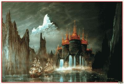 Вальхалла, рай – жизнь после смерти для воинов викингов.