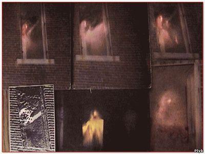 Снимок призрака в заброшенном доме
