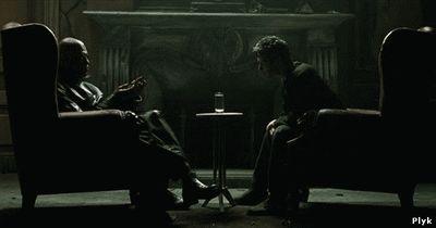 Беседа Нео с Мофеусом
