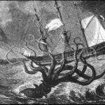 Морское чудовище кракен