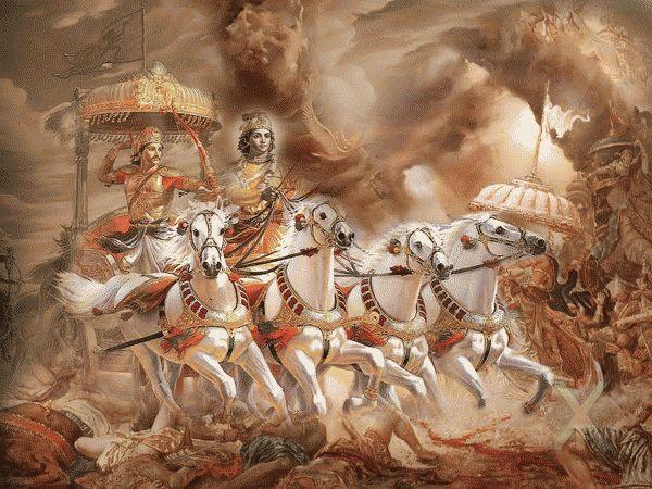 ядерная война в древней индии