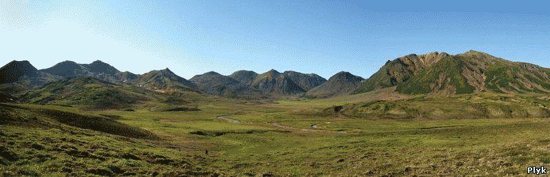 Долина приносящая смерь на камчатке