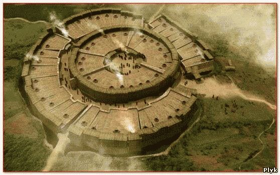Реконструкция Древний город Аркаим