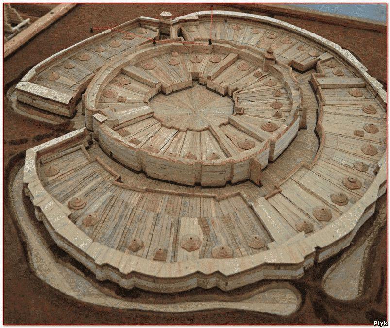 Модель города Аркаим