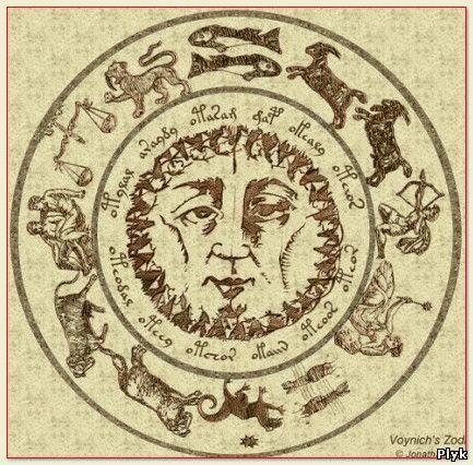 Иллюстрации из манускрипта Войнича
