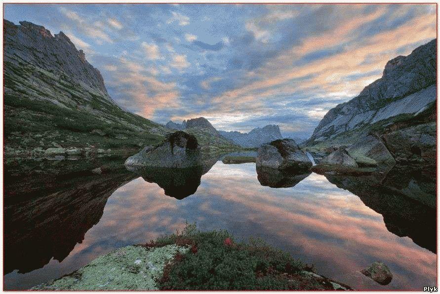 Озеро горных духов Алтай