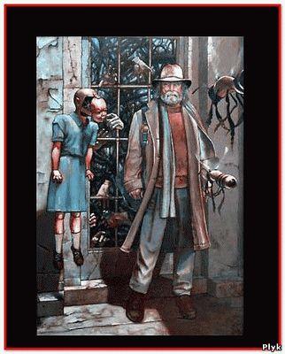 Картина Билла Стоунхэма Руки сопротивляются ему страшная и ужасная