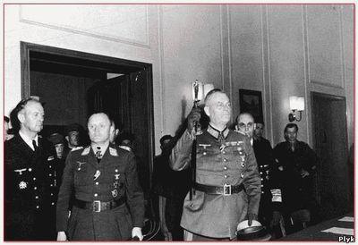 Историческая страница России, подписание капитуляции немцами