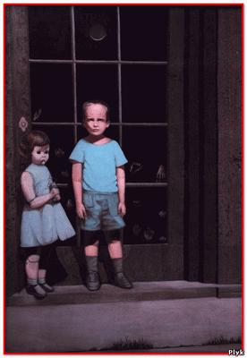 Страшная картина художника Билла Стоунхэма «Руки сопротивляются ему Hands Resist Him