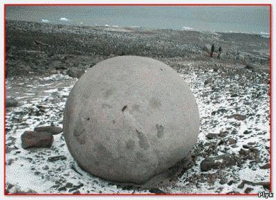 Мячи богов одна из загадок прошлого, круглые камни находят по всему миру