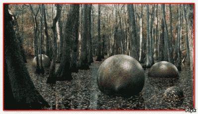 Загадки природы шары богов, круглый камень