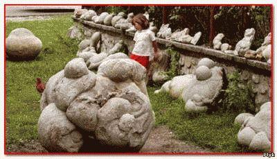 Местные жители назвали растущие живые размножающие и передвигающие камни тровантами