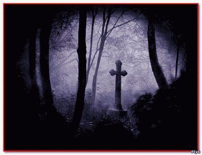 В появлении блуждающих могил виновата магия