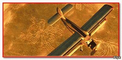 Рисунки пустыни Наска видны только с самолета