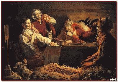 Рождество и гадание мистическая ночь
