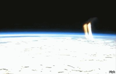 Таинственные лучи с Земли