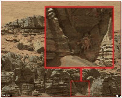 Чужой на фотографии с Красной планеты
