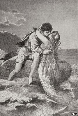 Легенда о парне и русалке