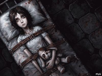 Алиса в стране Чудес в психиатрической больнице