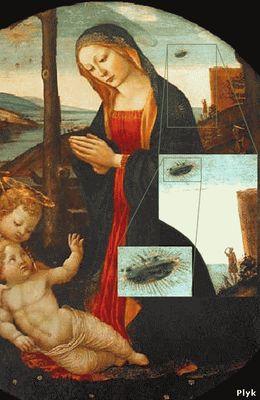 Мадонна со святым Джованнино Доменико Гирландая (1449-94)