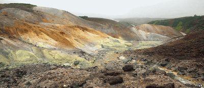 Долина смерти Камчатка