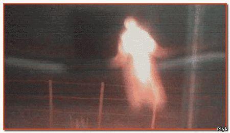 Уникальный снимок призрака доказывает, что призраки существуют. Призрак был сфотографирован полицейским