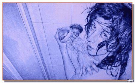 Рисунки шариковой ручкой новый вид искусства от художника Juan Francisco Casas