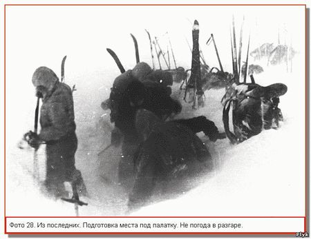 Гибель группы Дятловцев,ответы и вопросы