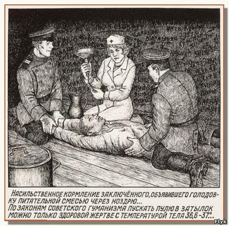 Издевательства и пытки в ГУЛаге