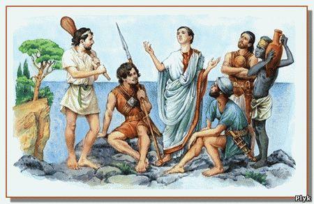 Как Юлий Цезарь попал в плен к пиратам. Случай произошел с Цезарем в 75 году до н. э