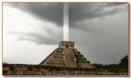 Пирамиды активировались