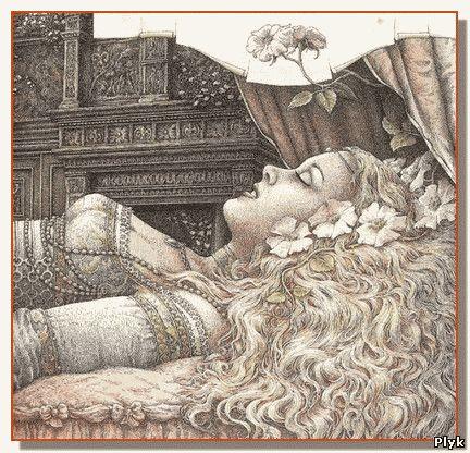 Сказка первая, Спящая красавица, вернее оригинал Спящей красавицы