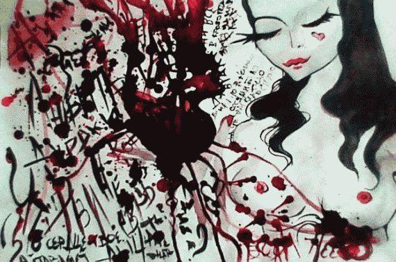 Рисунки людей с психическими отклонениями57