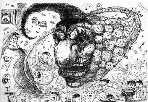 Рисунки людей с психическими отклонениями65