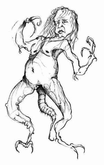 Рисунки людей с психическими отклонениями75