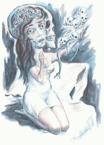 Рисунки людей с психическими отклонениями8