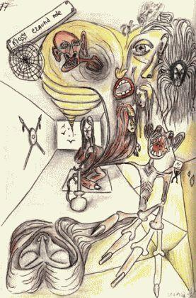 Рисунки людей с психическими отклонениями94
