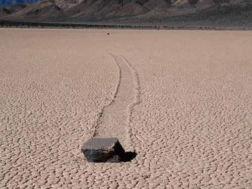 двигающиеся камни