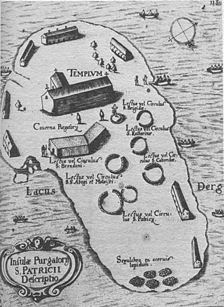 Карта острова 1666 года