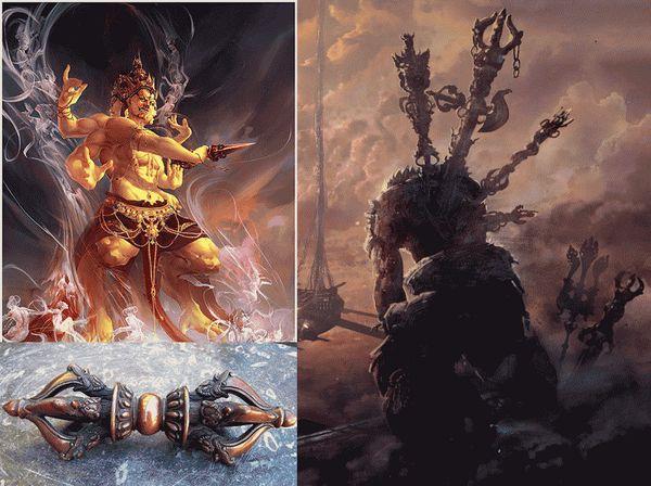 Ваджра оружие богов 3