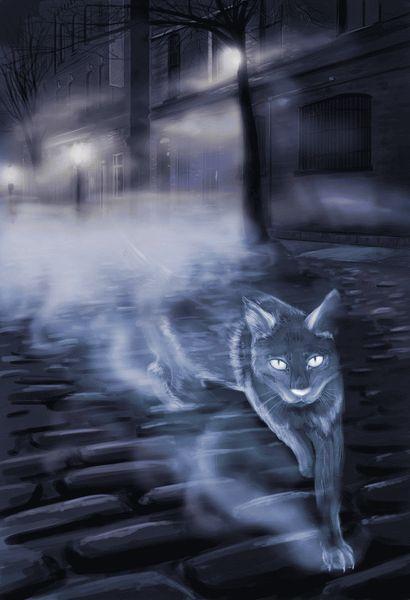 Кошка-призрак