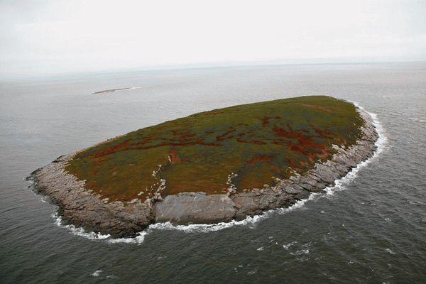 Алмазы под островами