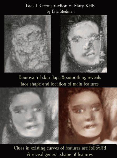 Реконструкция внешности Мэри Келли
