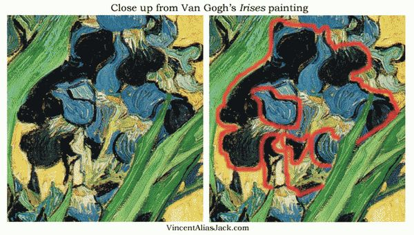 «Ирисы» Ван Гога