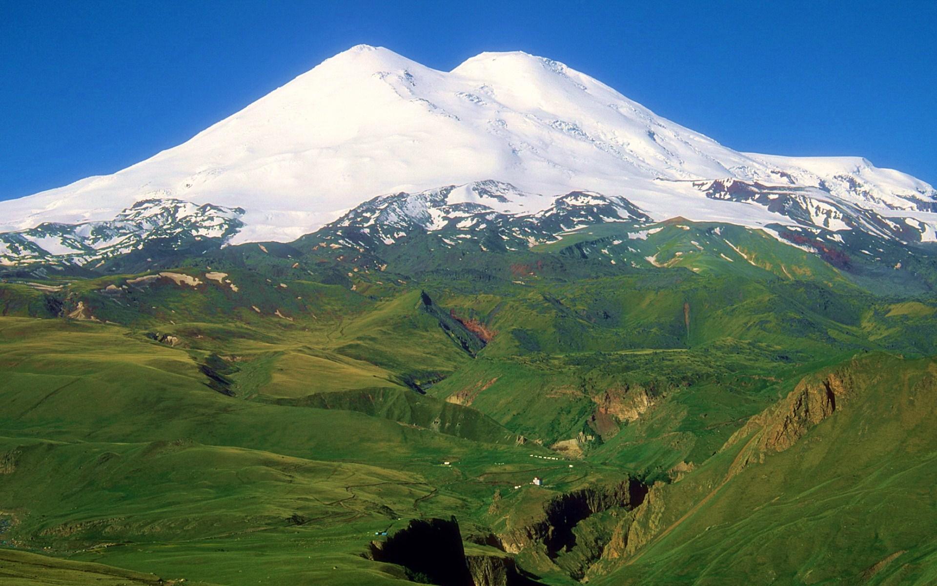 Северный Кавказ. Гора Эльбрус