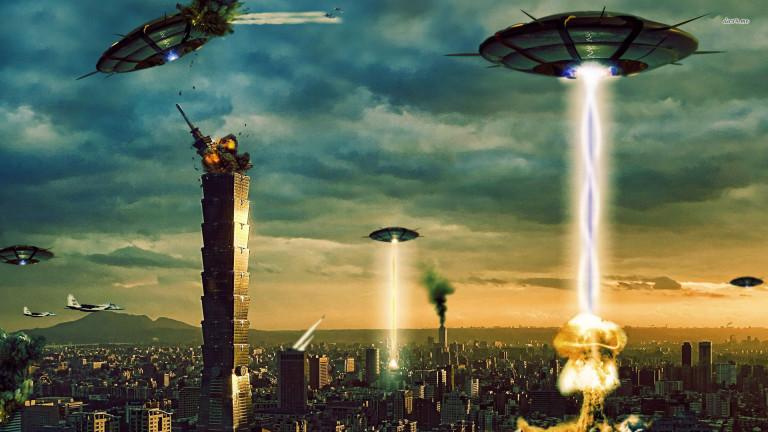 пришельцы в Лос-Анджелесе